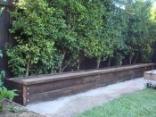ironbark garden bed by Yummy Gardens Melbourne