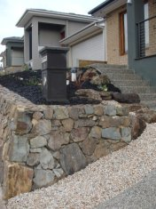 new front garden landscaped by Yummy Gardens Melbourne