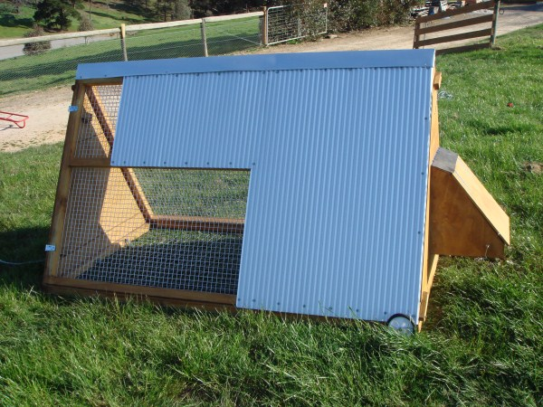 a frame chook coop by Yummy Gardens