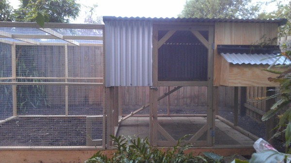 chicken house two tiered by Yummy Gardens Melbourne