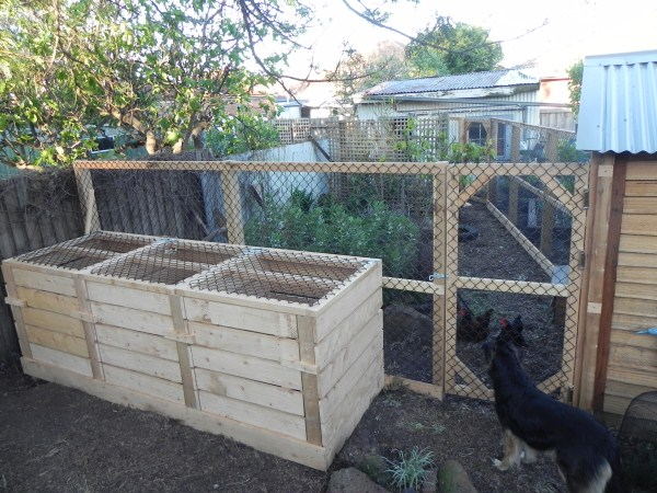 3 station compost system by Yummy Gardens Melbourne