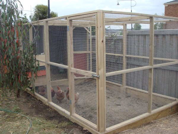 fox proof chicken run by Yummy Gardens Melbourne