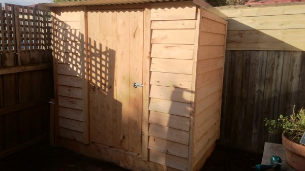 Tool shed by Yummy Gardens Melbourne