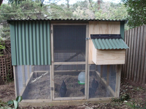 two storey chookhouse by Yummy Gardens