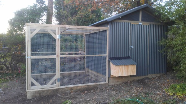 Back of chook house & run by Yummy Gardens Melbourne