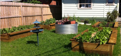 Garden Design Garden Design with DIY Raised beds in the vegetable
