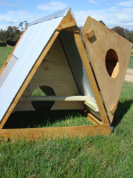 roosting and night area in coop by Yummy Gardens Melbourne