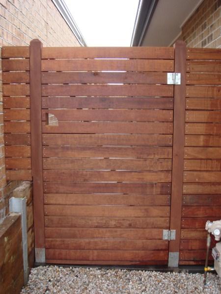 side gate by Yummy Gardens Melbourne