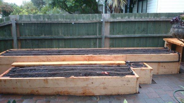 custom built raised veggie beds by Yummy Gardens Melbourne